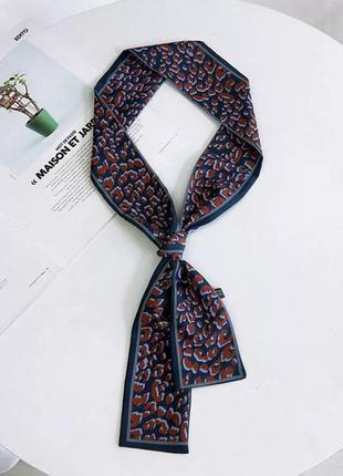 Платок шарф шарфик галстук бант лента для волос на сумку на шею на руку новый