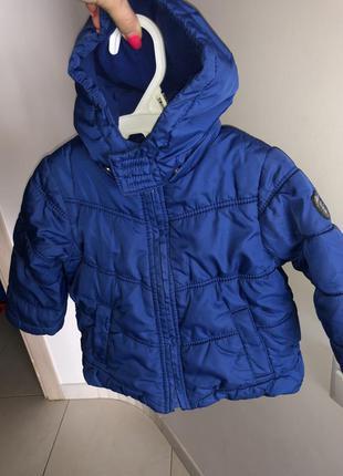 Куртка на флисе esprit  для девочки размер 80
