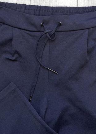 Модные брюки трикотаж