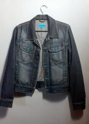 Модная джинсовая куртка vigoss
