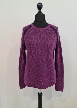 Фиолетовый свитер tommy hilfiger