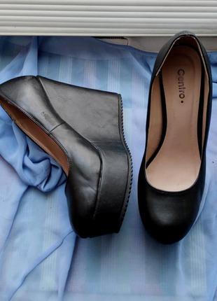 Туфли на платформе 38р