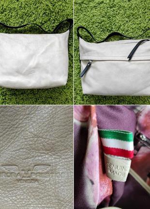 Новая итальянская сумка из 💯 зернистой кожи !