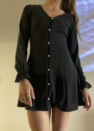 Little black dress платье короткое