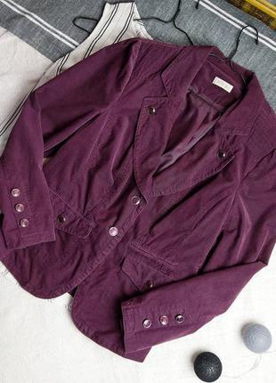 Распродажа!!! вельветовый пиджак жакет bonita всего за 150 грн