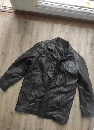 Куртка кожаная ben sherman