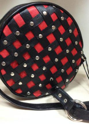 Ультра-модная сумочка кроссбоди из кожи