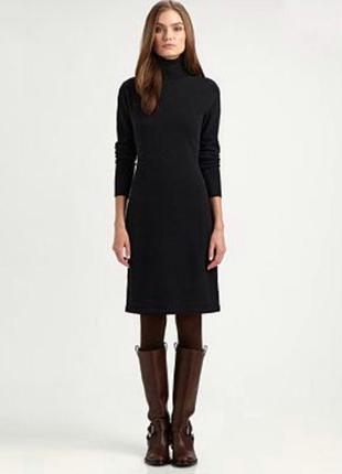 Шерстяное платье премиум бренда ralph lauren