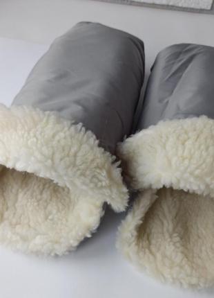 Варежки, перчатки для рук на коляску