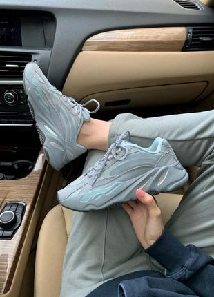 Кросівки adidas yeezy 700 blue кроссовки