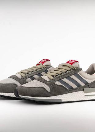 Кроссовки adidas originals zx 500rm gray