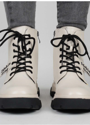 Ботинки женские демисезонные (337311) / 100672