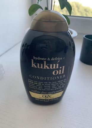 Кондиционер ogx hidrate + kukui oil! новый!