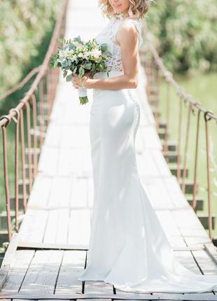 Свадебное платье!!