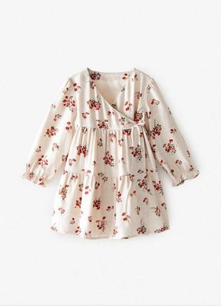 Безумно красивое платье для малышки  от zara