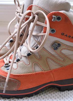 Замшевые треккинговые ботинки garmont gore tex р.39,5