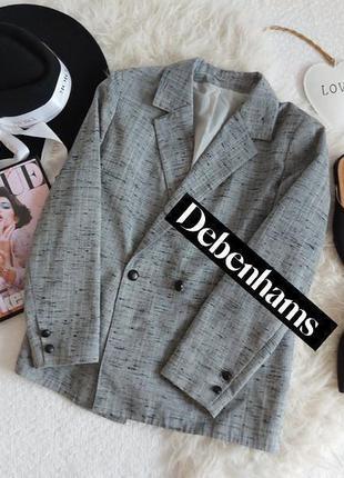 Шикарный очень стильный британский пиджак в идеальном состоянии от 🖤debenhams🖤