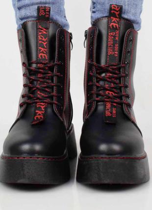 Ботинки женские демисезонные (336196) / 100678