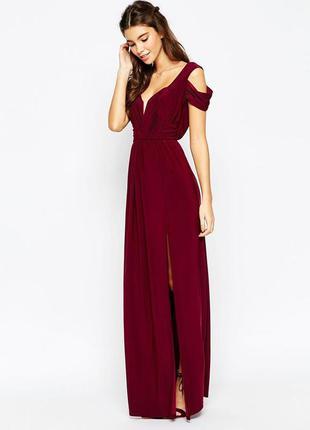 Роскошное вечернее платье,asos ,размер 12-14