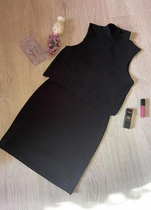 Маленькое черное платье boohoo