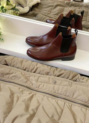 Ботинки кожа рр 38 tuffa