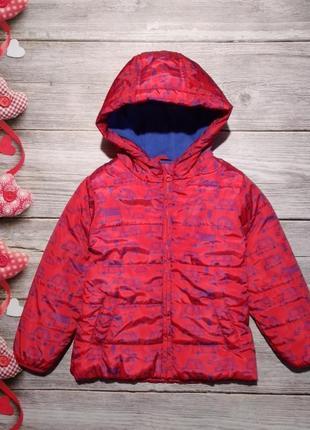 Демисезонная курточка st.bernard на мальчика 3-4 годика