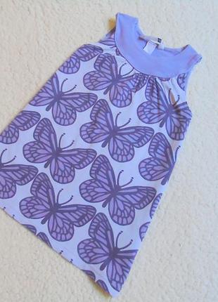 Хорошенькое трикотажное платьице от h&m