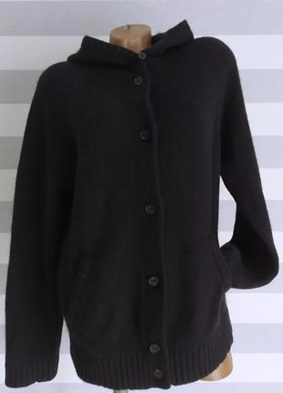 Очень теплая кофта свитер кардиган шерсть+кашемир