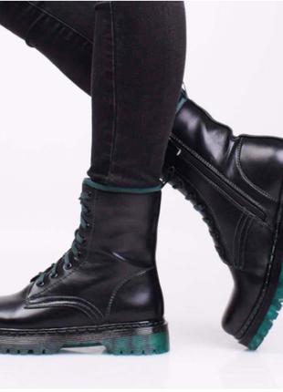 Ботинки женские демисезонные (335079) / 100690