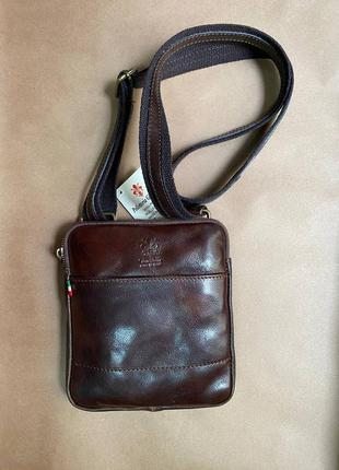 Мужская сумка планшетка из натуральной кожи