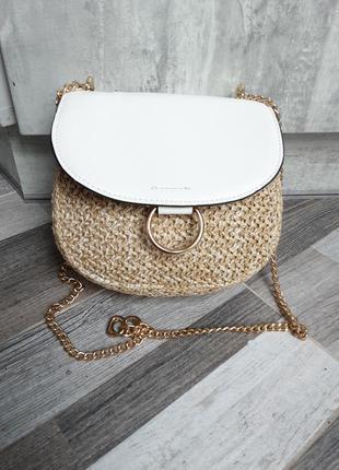Симпатичная сумочка- плетенка. бесплатная доставка