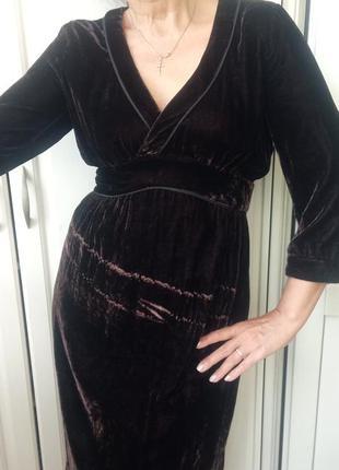 Бархатное платье 👗