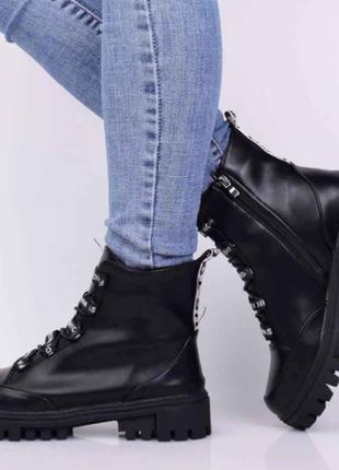 Ботинки женские демисезонные (336117) / 100695