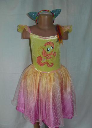 Карнавальное платье литл пони на 7-8 лет