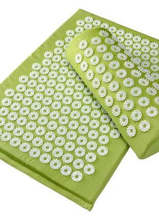 Массажный набор коврик валик и чехол