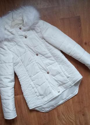 Деми куртка marks & spencer курточка на 11-12лет, рост 152см.
