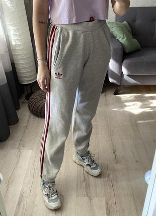 Меланжевые спортивные штаны, спортивки