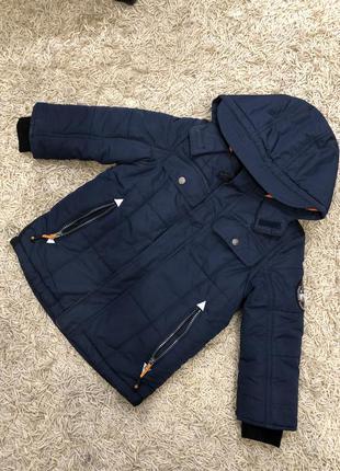 Тёплая курточка на мальчика 5 лет