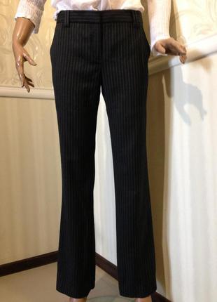 "Костюмные брюки - super 100""s wool,  massimo dutti 38/m"