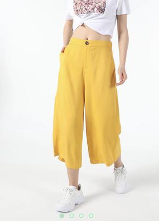 Яркие брюки кюлоты