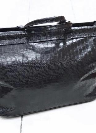 Дорожная сумка большая сумка питон рептилия
