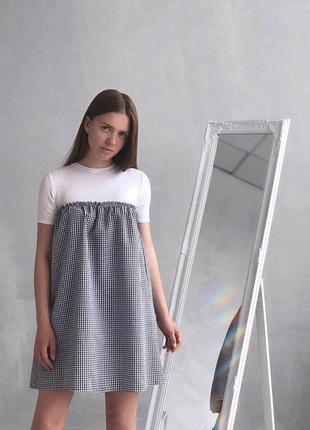Платье футболка zara