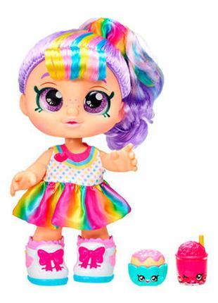 Лялька kindi kids snack time friends, кукла оригинал, рейнбоу кейт