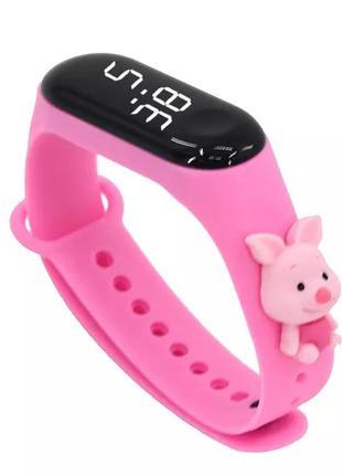 Новий браслет електронні дитячі годинники мультфільм світлодіодні спортивні годинники модні дитячі годинники  подарунок інфантильні годинники