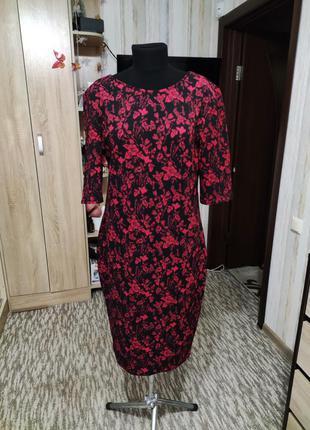 Отличное платье-футляр 54-56 размер