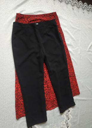 Базовые черные брюки на подкладе