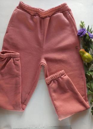 Женские спортивные штаны джоггеры цвет пудра