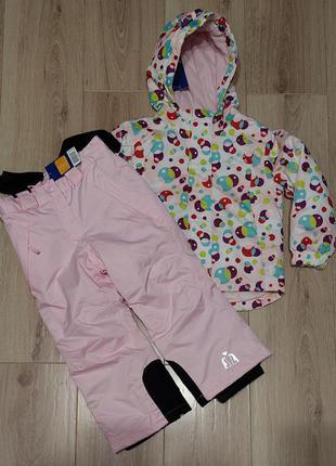 Термокомбинезон раздельный куртка и штаны от lupilu германия98-104