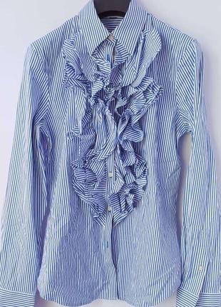 Рубашка в полоску ralph lauren