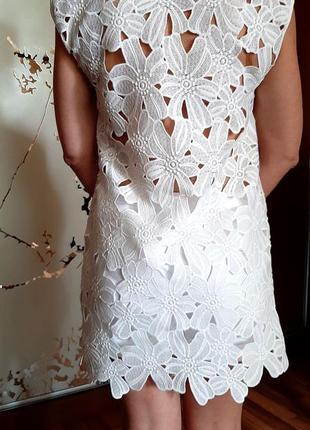 Кружевнoе платье туника для моря